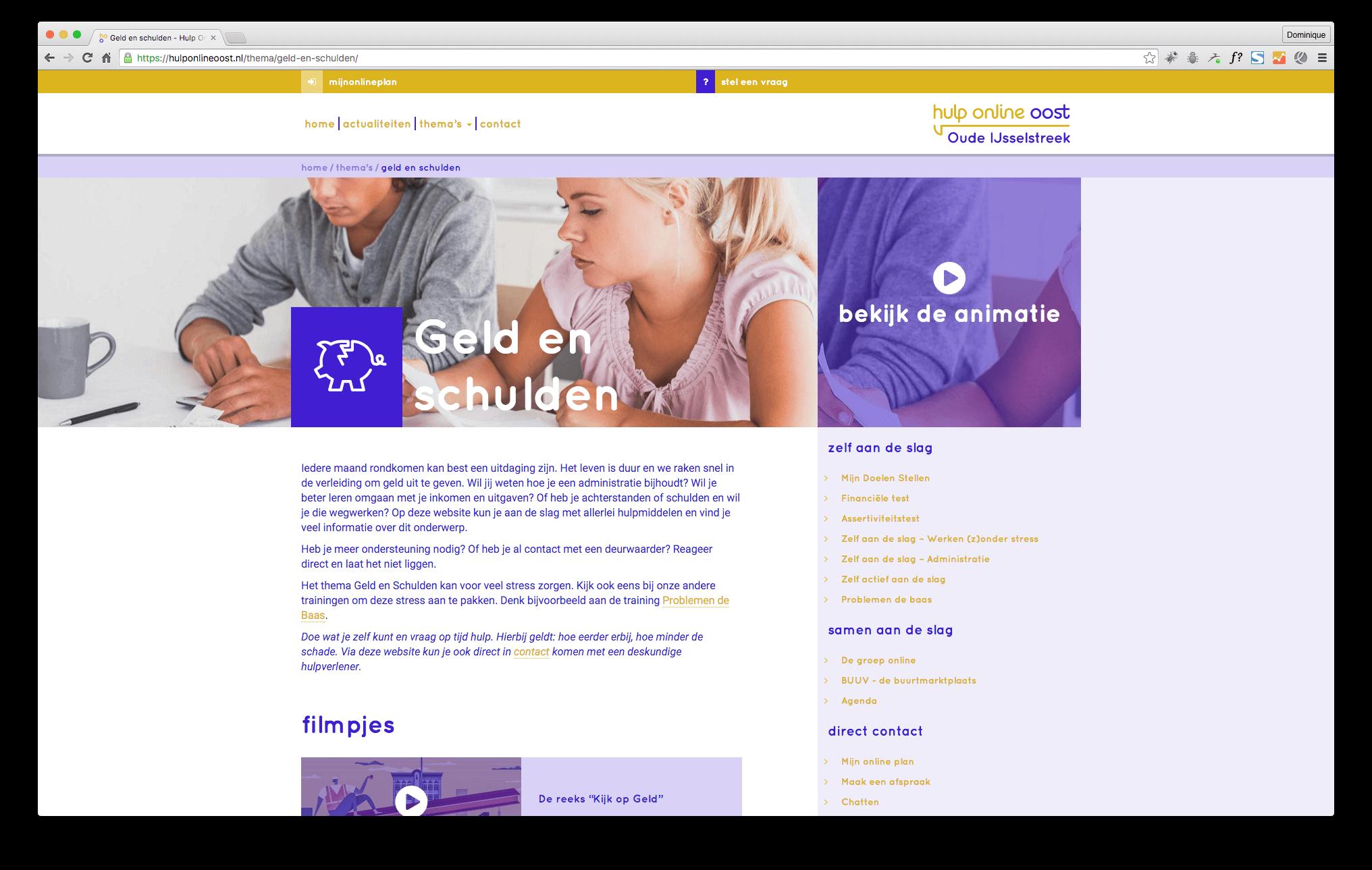 Hulp Online Oost